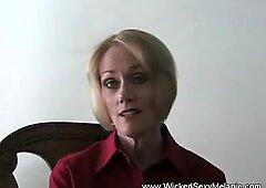 Sensual Sucking From Horny Amateur GILF
