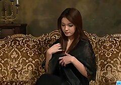 Tetas animadas Mei Haruka se muestra mientras Masturbánose?
