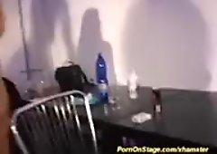 wild lesbian porn on stage