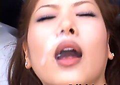 Aya matsuki hot kinky asian doll enjoys part3