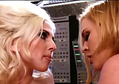 Krissy Lynn and Christie Stevens - Intergalactic Swingers