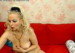 hot milf stripping