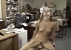 2 Girls have rough strapon sex