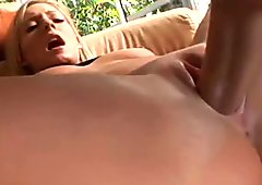 Just gorgeous blonde babe Carmen Kinsley enjoys missionary style sex