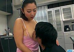 Yuri Honma enjoys savage cock More at javhdnet