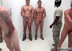 Cartoon movieture of a gay person in the military The Hazing, The