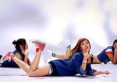 Bubble Pop Japonesas Corridas en la Cara Recopilación K-Pop PMV JAV