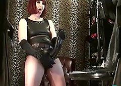 Slave Training Mistress Makes You Worship Her BBC