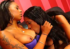 Two Hot Lesbians Fuck With Toys