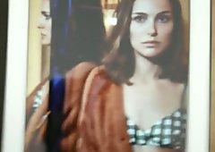 Cum on Natalie Portman - July 2016
