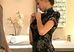 Heather Vahn works in Japanese massage saloon as a hooker