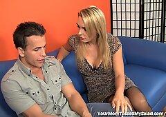 Kinky MILF Babe Licks Hairy Man Ass!