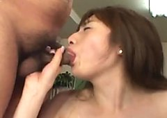 Steamy gangbang sex video featuring frisky Japanese cutie Nagisa Minazuki
