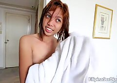 ASIANSEXDIARY Sexy Asian Teen Fucked After Refreshing Shower