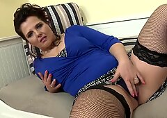 Taboo sex with hot mature mom and lucky son