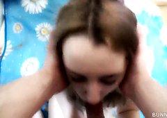 Ich habe Sperma aus Vaters Schwanz gesaugt ... Ladung Sperma in Meine Mund! ^^