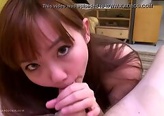 Busty asian teen Harriet romps pal on bed