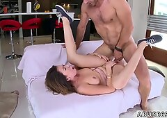 Hardcore rough creampie in pussy and dirty english mature Melissa Moore Begs For Rough Sex