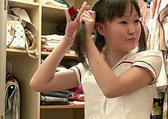 RealAsianExposed Cute Asian Teen Strips
