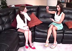 Lesbian Foot Worship - 031