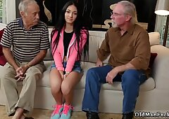 Two old granny s and man girl Dukke the Philanthropist - Crystal Rae