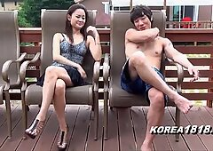 KOREA1818.COM - molten Korean Upskirt Outside