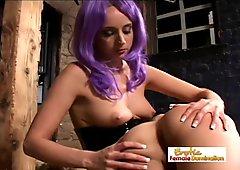 Slave Girl Gets Back At Her Dominant Mistress