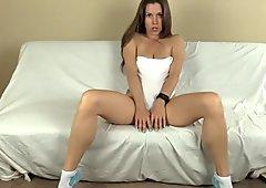 Lelu Love-Sweatpants Socks POV BJ Sex Cum On Pussy