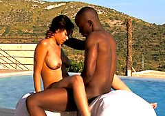Ebony Couple Experiment With Sex
