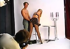 Young blonde gets her bent over - Julia Reaves