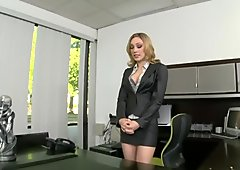 Secretary Fucked For Big Cock