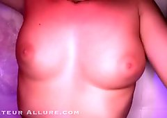 Nice Girl Rides Cock And Swallows Cum