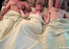 Double The Cocks For Grandma