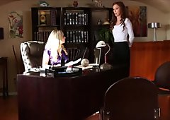 Maddy O'Reilly & Aiden Starr part 1 (Lesbian Office Seductions 8)